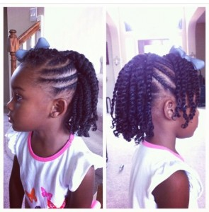Flat Twist Hairstyles For Kids 9