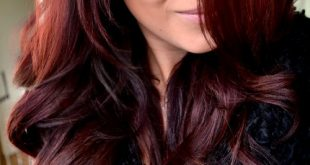 Pictures Of Dark Brown Hair With Burgundy Highlights 01