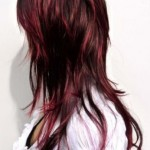 Pictures Of Dark Brown Hair With Burgundy Highlights 02