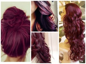 Pictures Of Dark Brown Hair With Burgundy Highlights 04