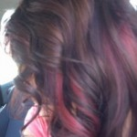 Pictures Of Dark Brown Hair With Burgundy Highlights 6