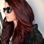 Pictures Of Dark Brown Hair With Burgundy Highlights 8