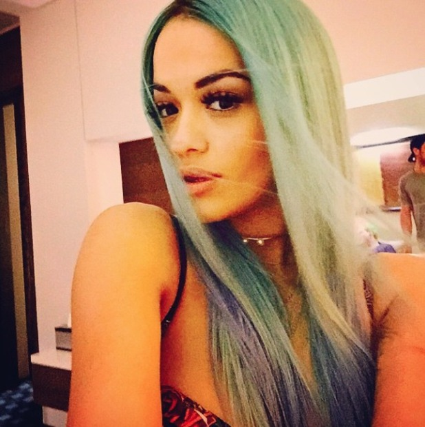 Ritaora Haircut In X Factor Show 2020 Hair Color Name 01