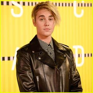 justin bieber new haircut 2015 in MTV VMAs red carpet