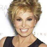 short curly hairstyles for round faces over 40, 50, 60 2
