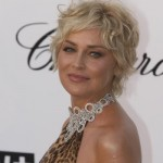 short curly hairstyles for round faces over 40, 50, 60 3