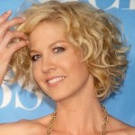short curly hairstyles for round faces over 40, 50, 60 6