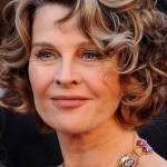 short curly hairstyles for round faces over 40, 50, 60 7