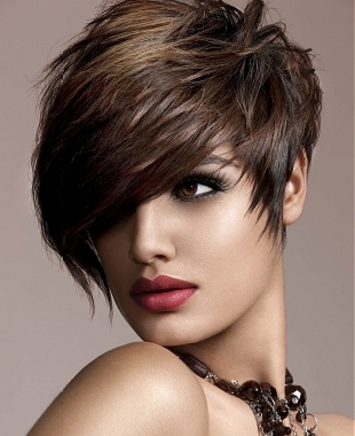 Short Funky Hairstyles 2018 For Thick Hair Medium And Long Hair