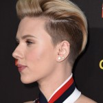 Scarlett Johansson haircut 2017 and natural hair color 2