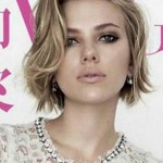 Scarlett Johansson haircut 2017 and natural hair color 4