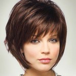 Short Stacked Bob Hairstyles With Bangs 01