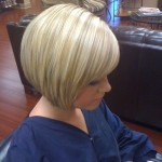 Short Stacked Bob Hairstyles With Bangs 05