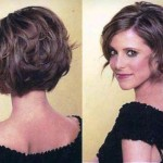 Short Stacked Bob Hairstyles With Bangs 4