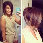 Short Stacked Bob Hairstyles With Bangs 5