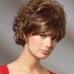 short haircuts with side bangs for round faces 02