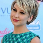 short haircuts with side bangs for round faces 4