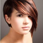 short haircuts with side bangs for round faces 6