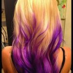 Blonde Hair With Purple Underneath Pictures