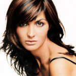 Dark Brown Hair With Mahogany Highlights Pictures