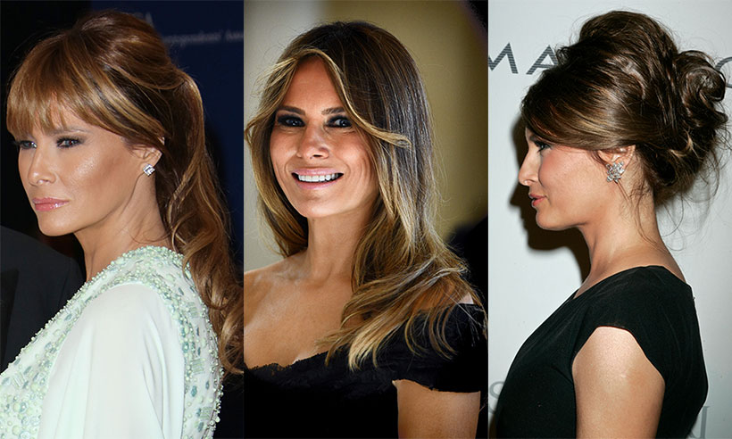Melania Trump Hairstyle 2018 Latest Photos