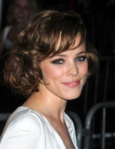 Short haircuts for thick curly hair and long face 1