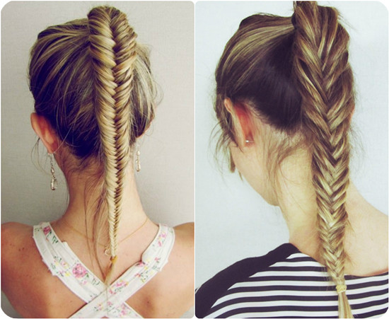 Good Fishtail Hairstyles For School Girls