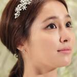 Korean Ponytail Hairstyle Decoration