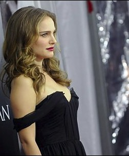 Natalie Portman front and back Hairstyle View
