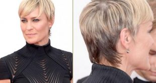 Robyn Short Hairstyle front and back view