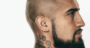 Arturo Vidal Haircut 2019 Design Name, Picture