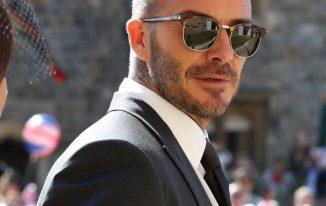 David Beckham New Haircut 2021