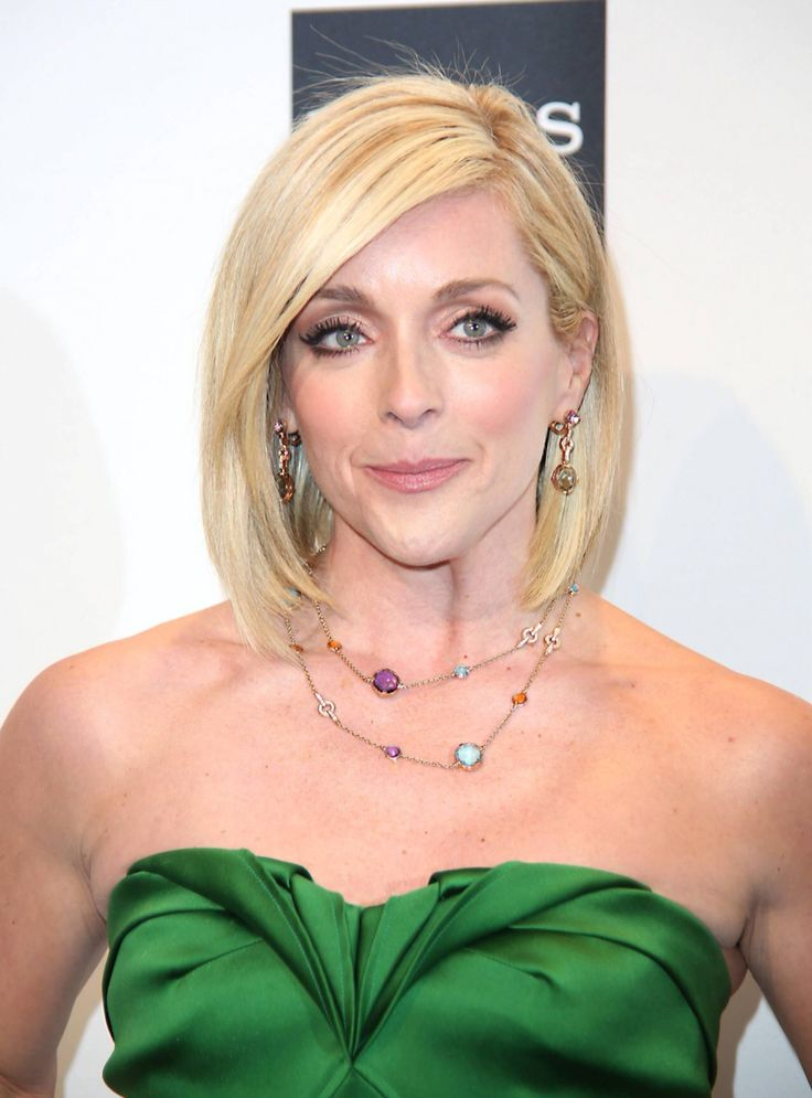 Jane Krakowski Bob Haircut 2018 Photos
