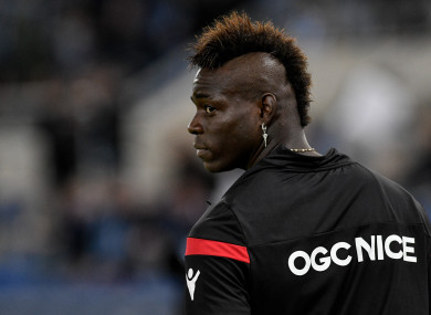 Mario Balotelli New Haircut 2018 side spikes