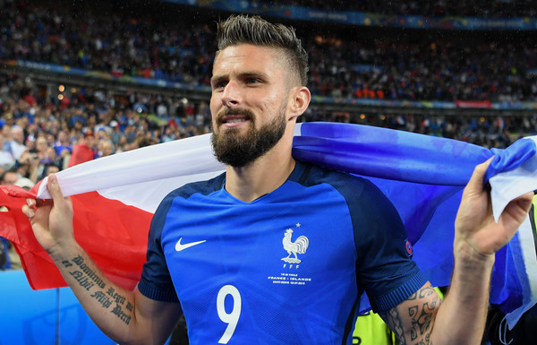 Olivier Giroud Haircut 2018 Pictures