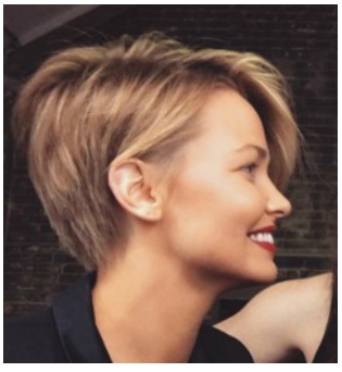 lara bingle latest hairstyle 2017 Pictures pixie cut