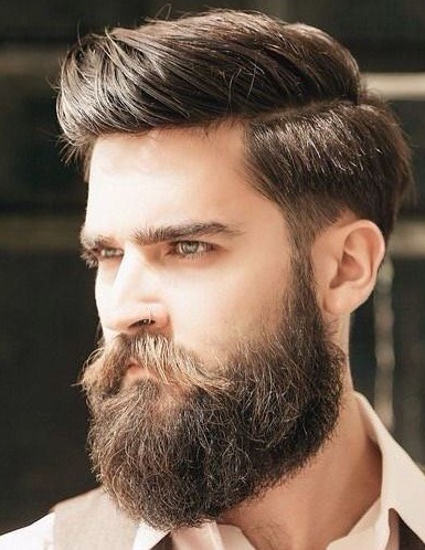 Mens Comb Over Hairstyle 2019 Pictures