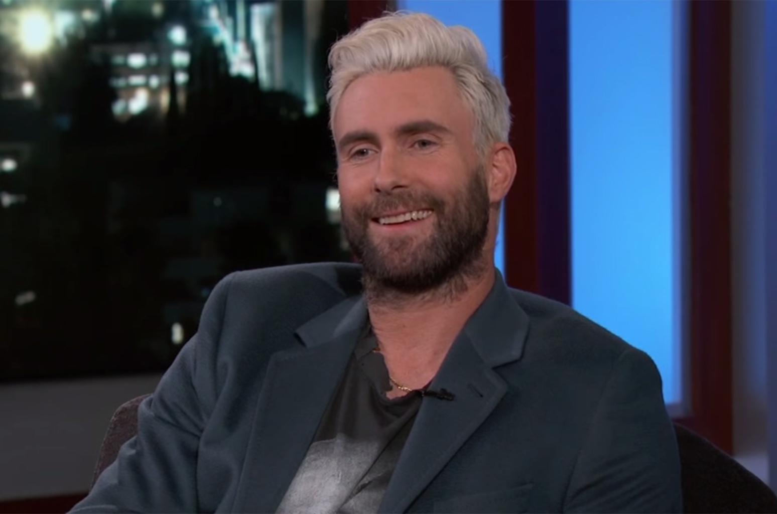 Adam Levine New Haircut 2019 Short, Undercut, Fade Hair Color Photos