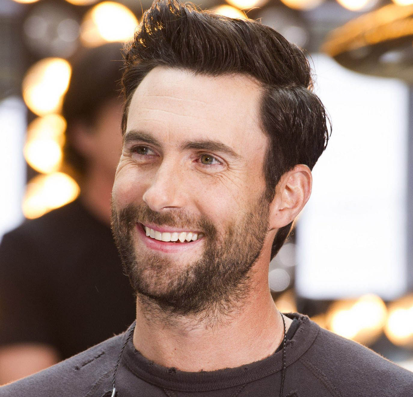 Adam Levine Short Haircut 2019