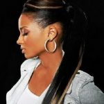 African American Ponytail Hairstyles 2018