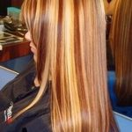 Blonde Hair With Red Highlights And Brown Lowlights Pictures
