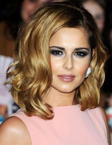 Cheryl Cole new haircut 2017 pictures