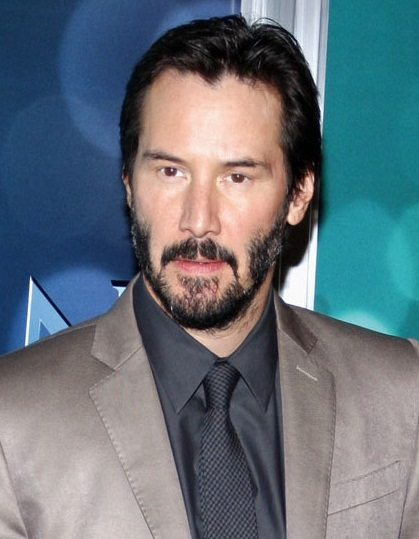 Keanu Reeves New Haircut 2019 with Beard