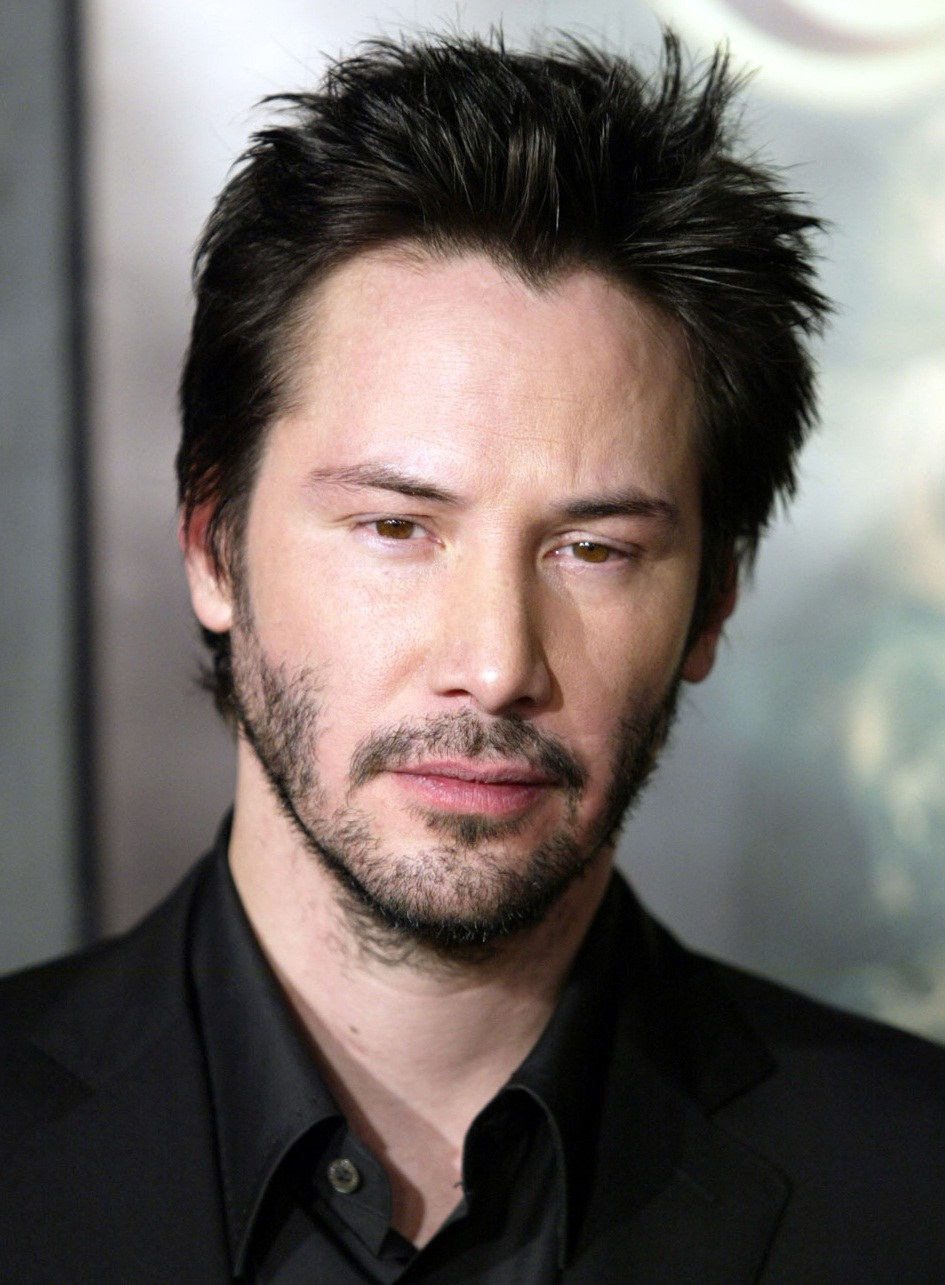 Keanu Reeves New Haircut 2018 with Beard