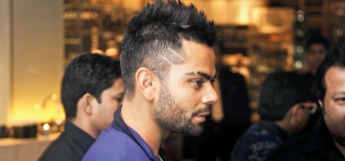 Virat Kohli Mohawk Hairstyle 2019