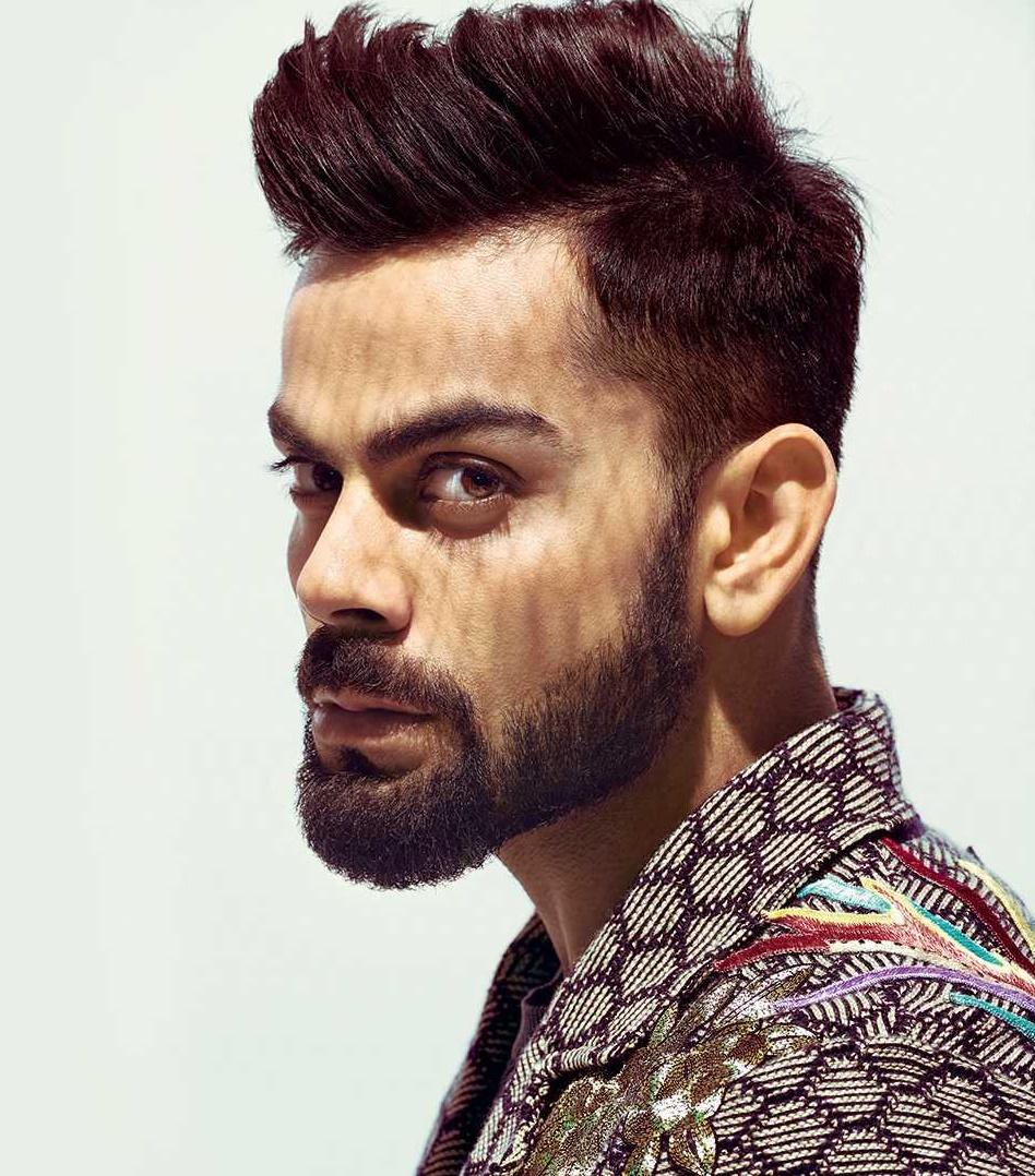 Virat Kohli Spiky Hairstyle 2019 Spikes