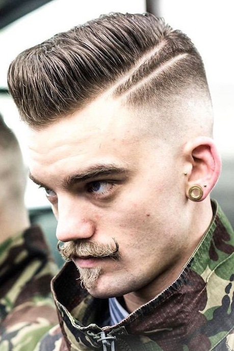 Mens Comb Over Hairstyle 2019 Photos
