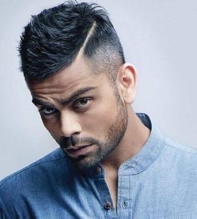 Virat Kohli Undercut Hairstyle
