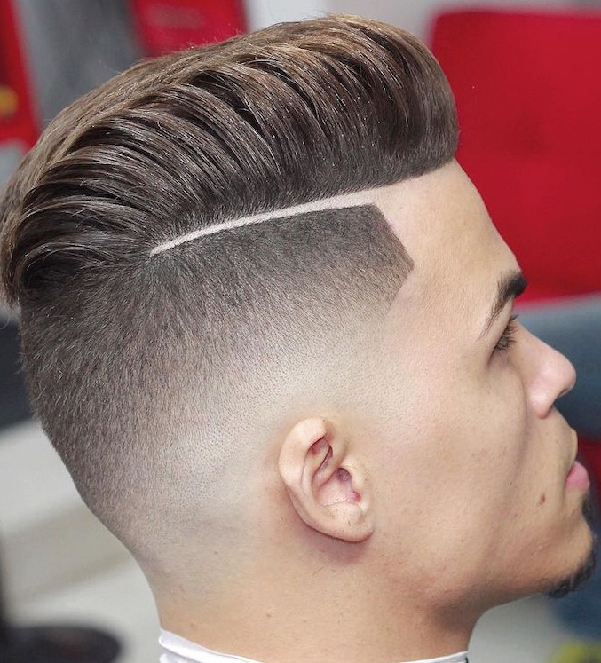 Mens Comb Over Hairstyle 2019 Images