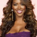 Kenya Moore Long, Short, Bun, Weave Hairstyles Pics